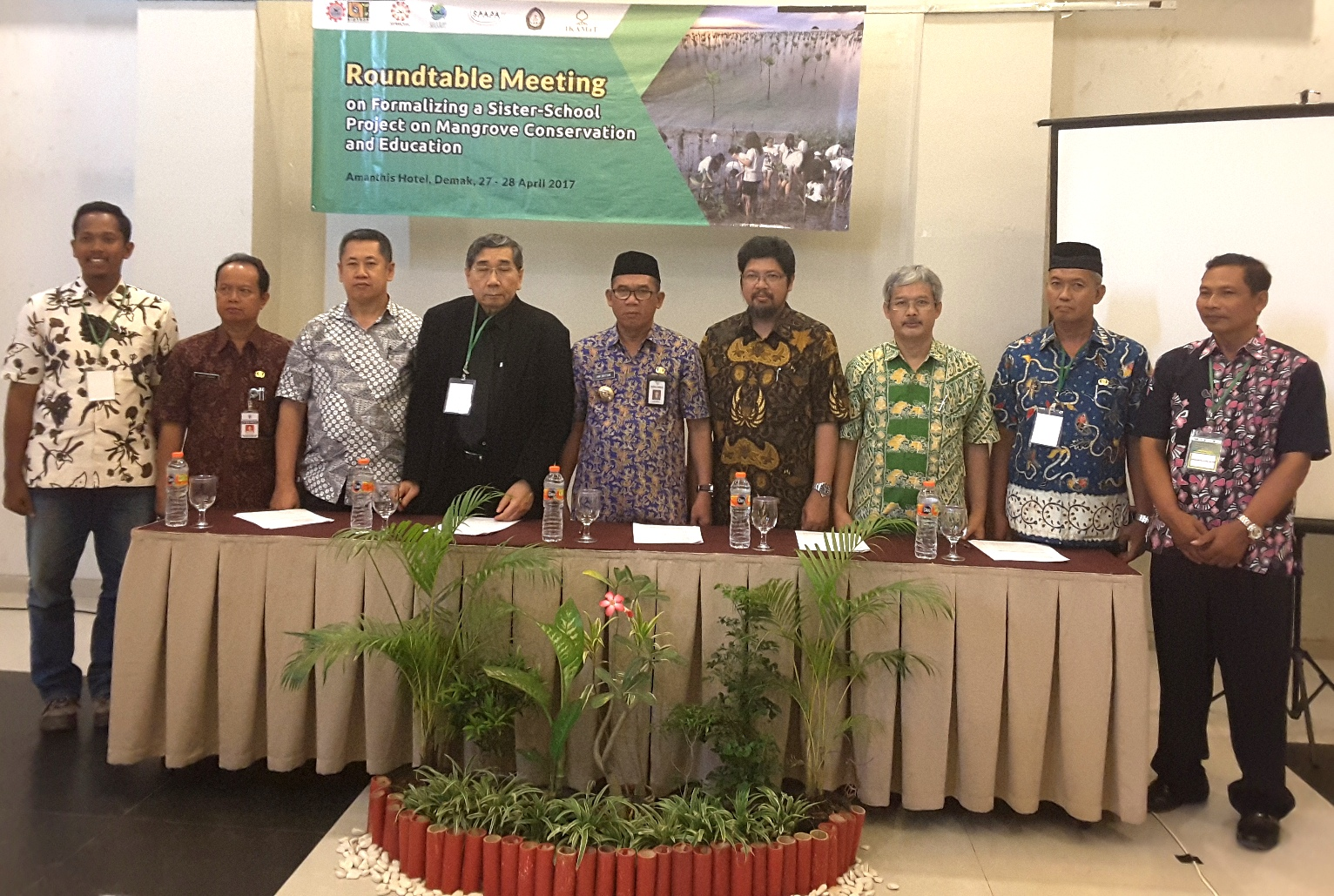 Indonesia-Thailand Collaboration Programme:  The Empowerment of Mangrove by Coastal Schools