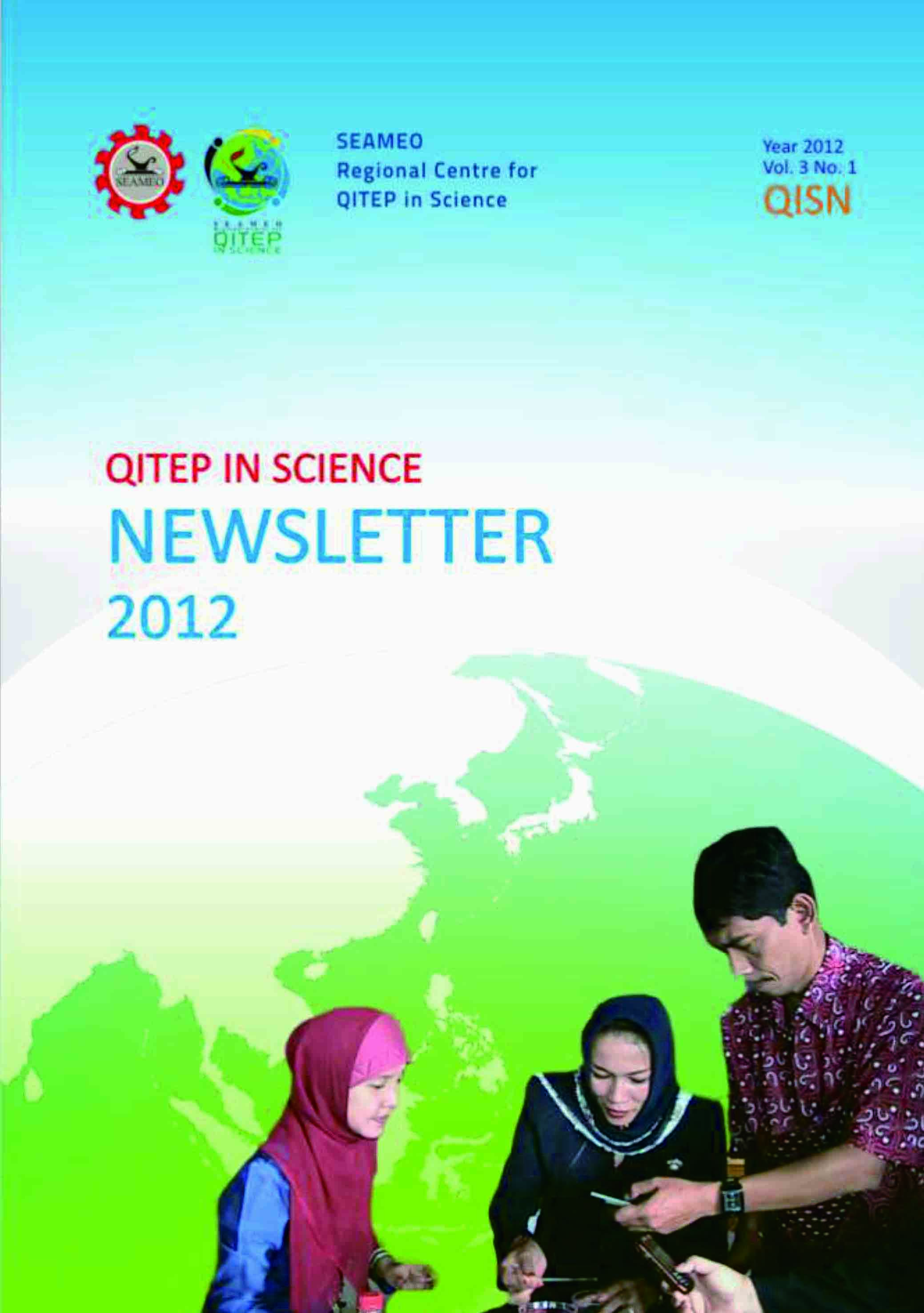SEAQIS Newsletter Vol 3 No 1 2012