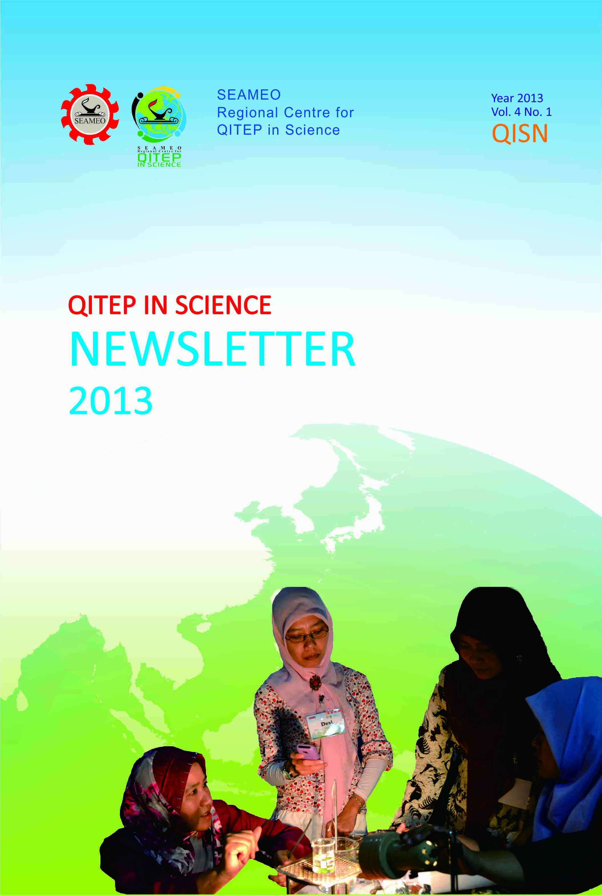 SEAQIS Newsletter Vol 4 No 1 2013