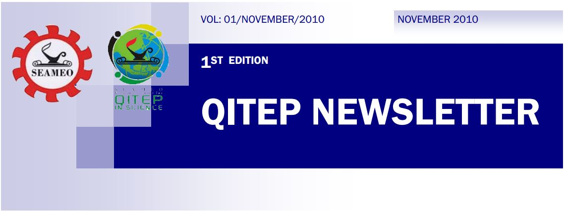 SEAQIS Newsletter Vol 1 No 1 2010