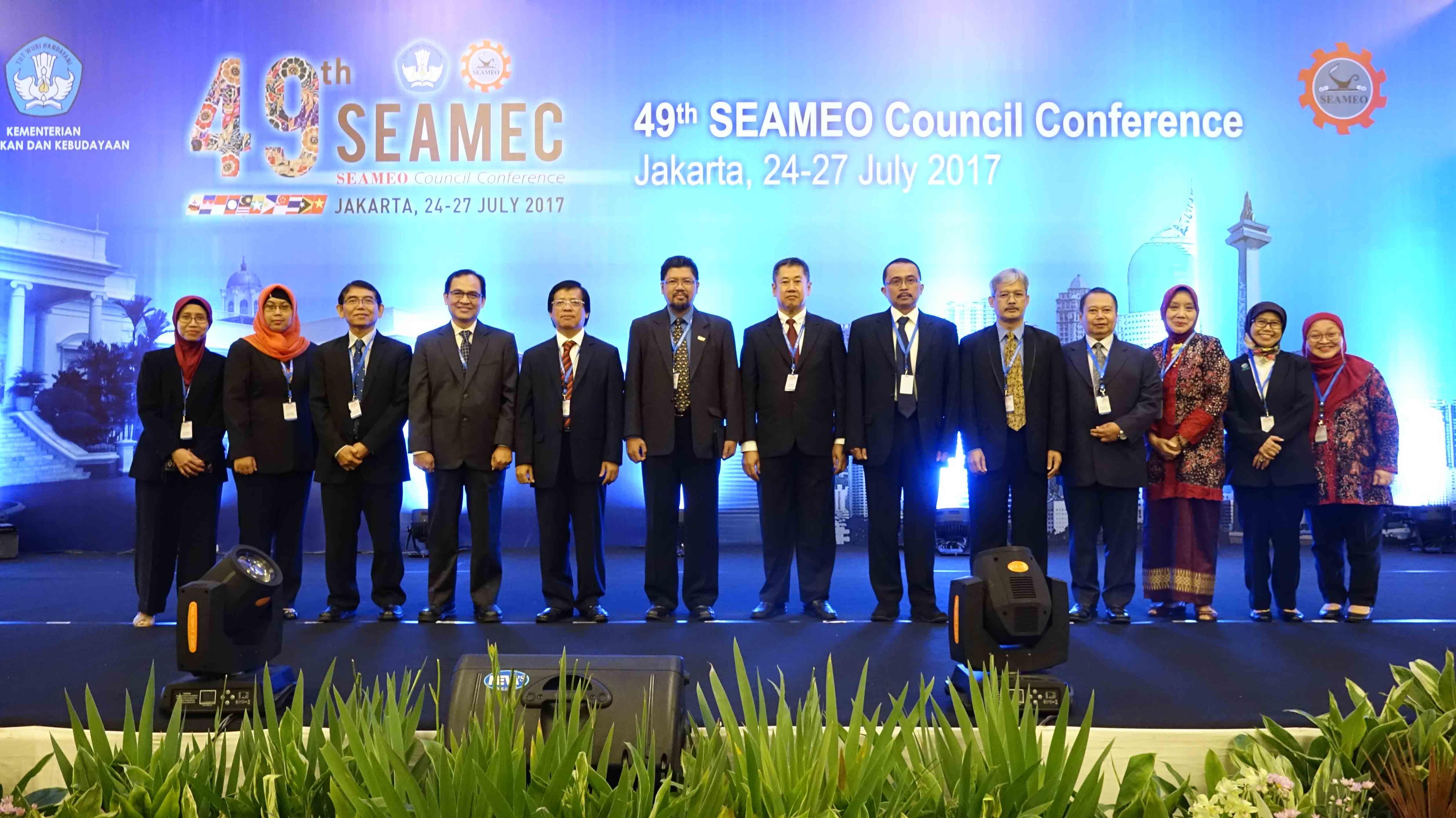 THE 49th SEAMEO Council Conference