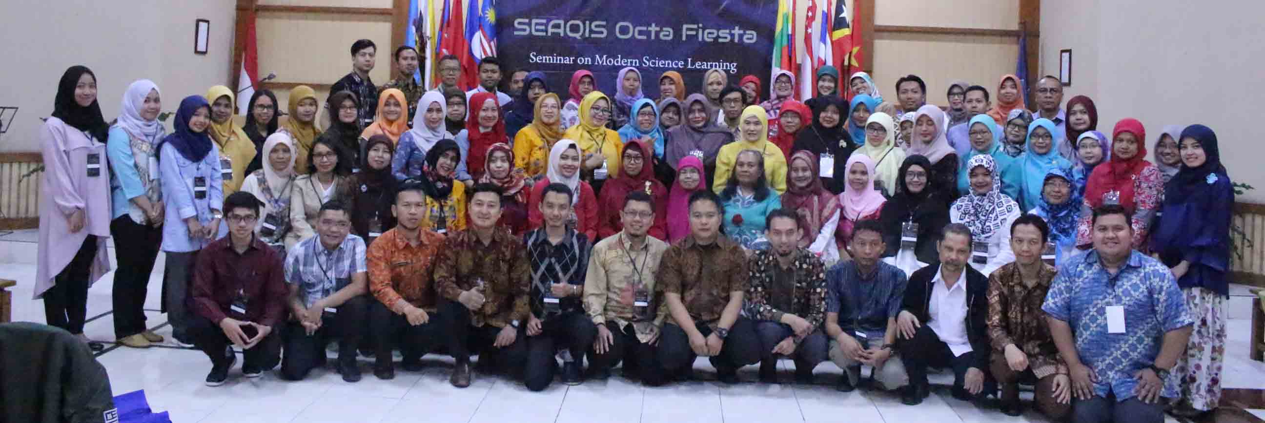 SEMINAR ON MODERN SCIENCE LEARNING – Closing event of SEAQIS Octa Fiesta