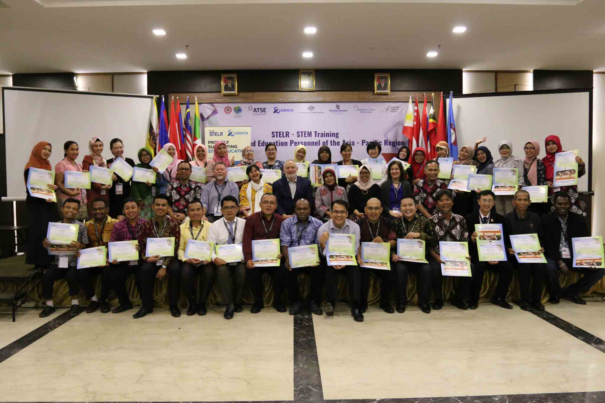 The STELR-STEM Training for Teachers and Education Personnel of Asia – Pacific Region