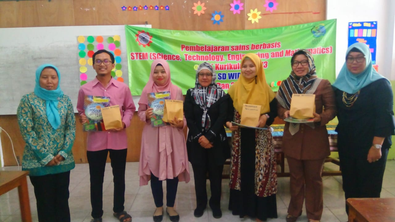 Training on Integration of STEM-based Learning on Curriculum 2013 Implementation in Bandung Regency