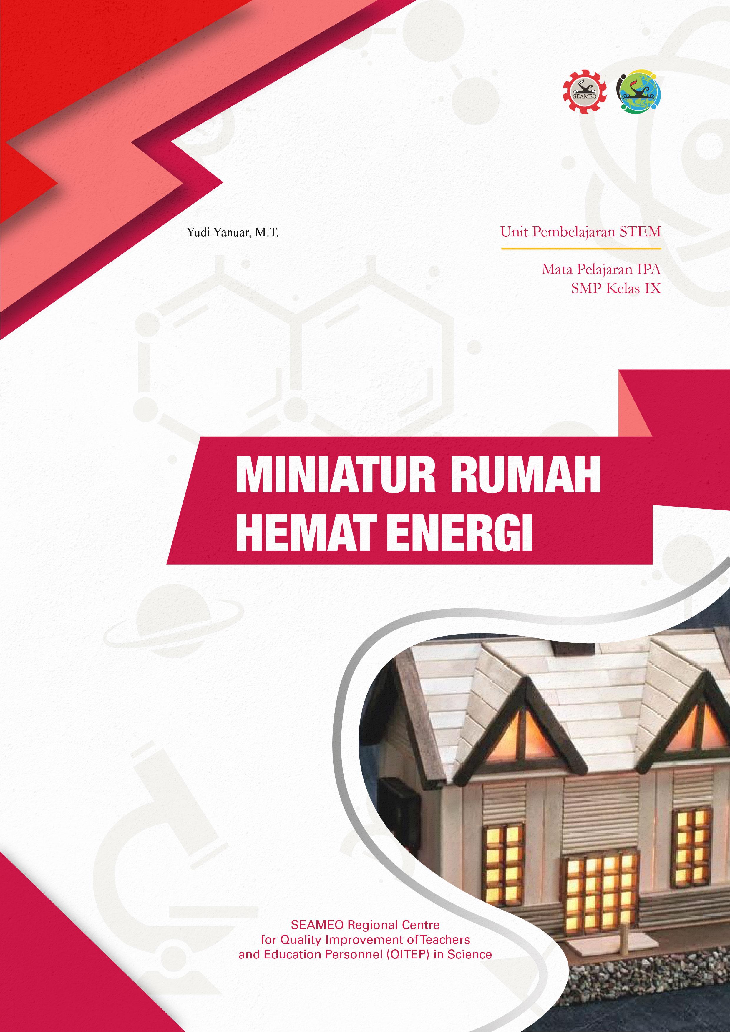 Miniatur Rumah Hemat Energi