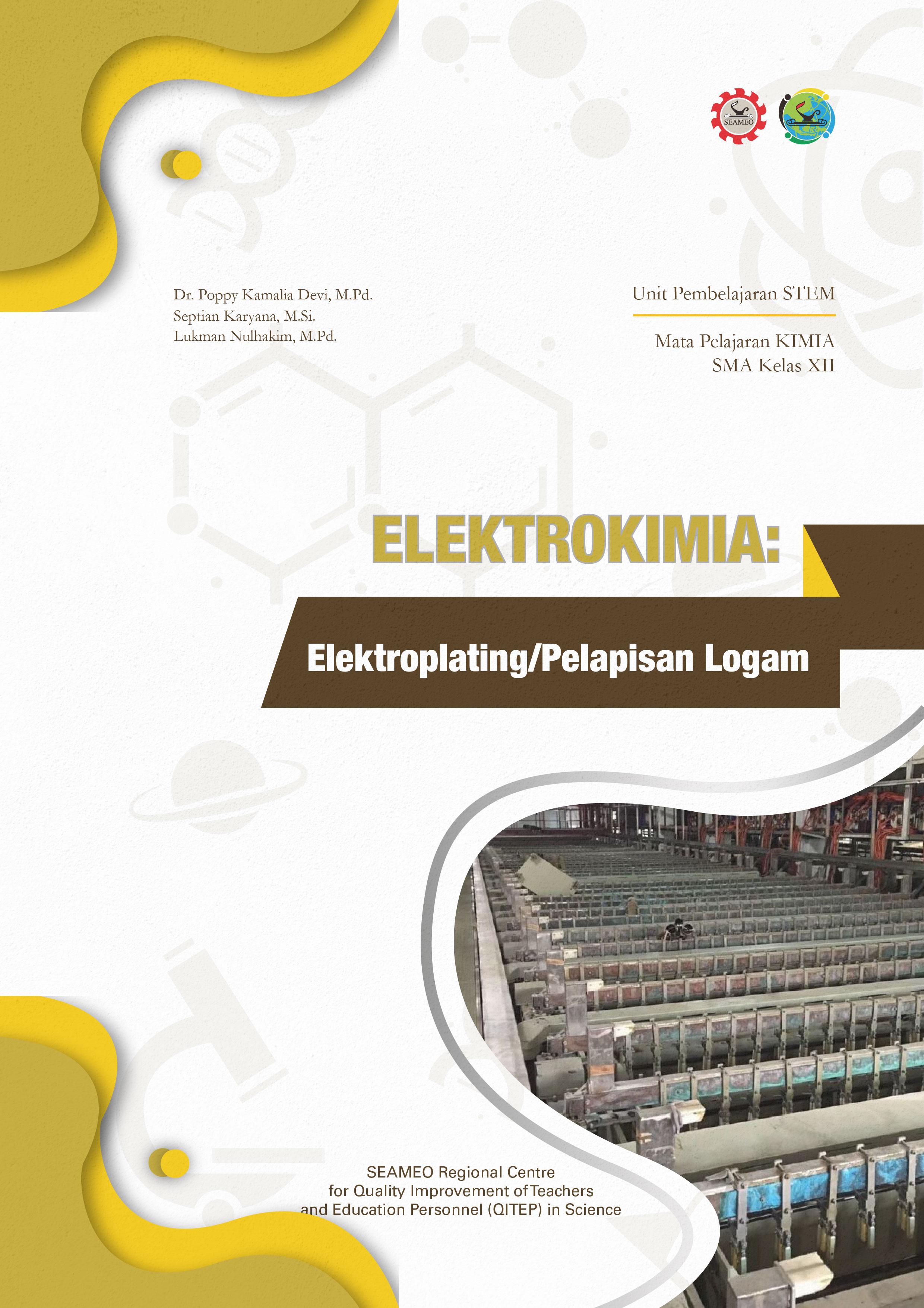 Elektrokimia: Elektroplating/Pelapisan Logam