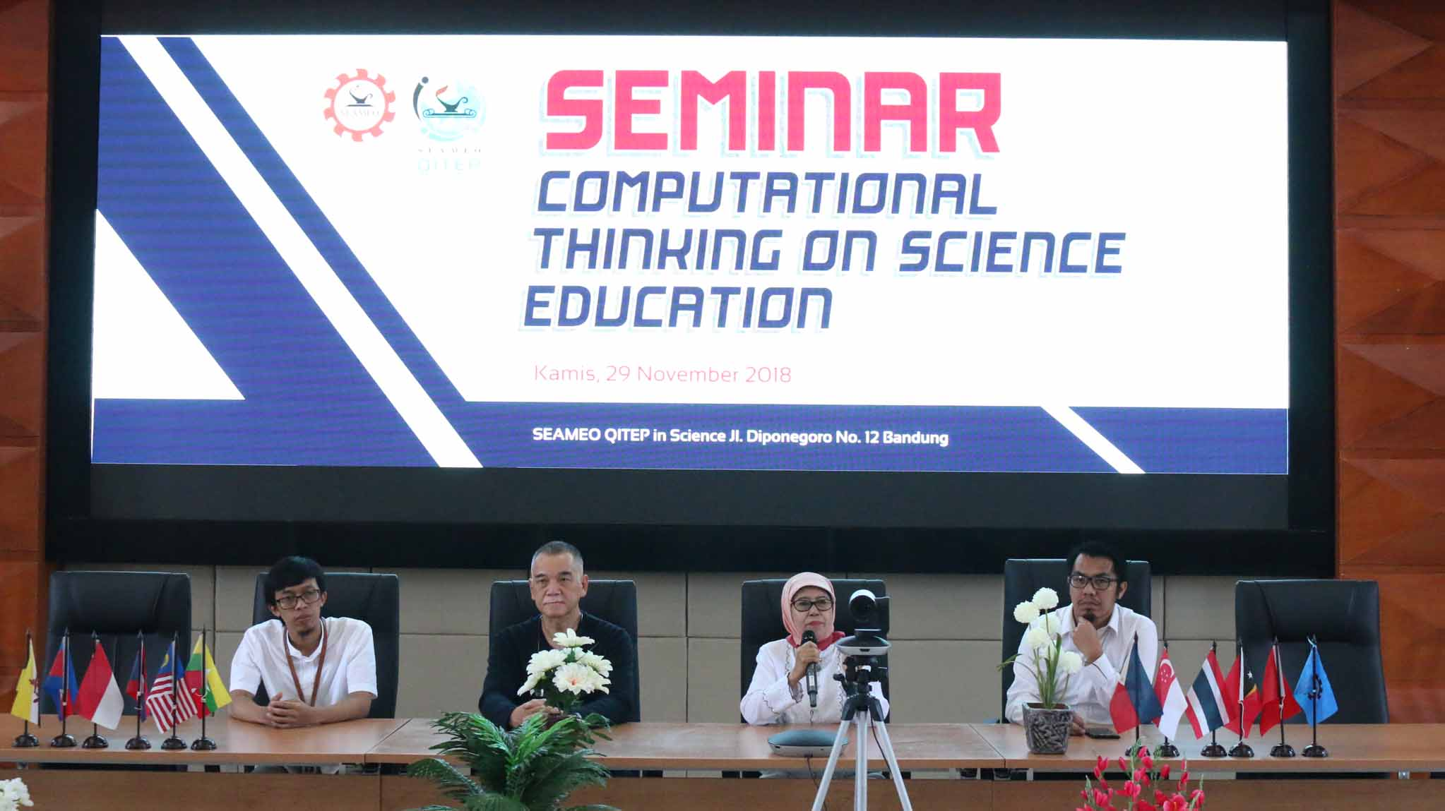 SEMINAR ON COMPUTATIONAL THINKING ON SCIENCE EDUCATION