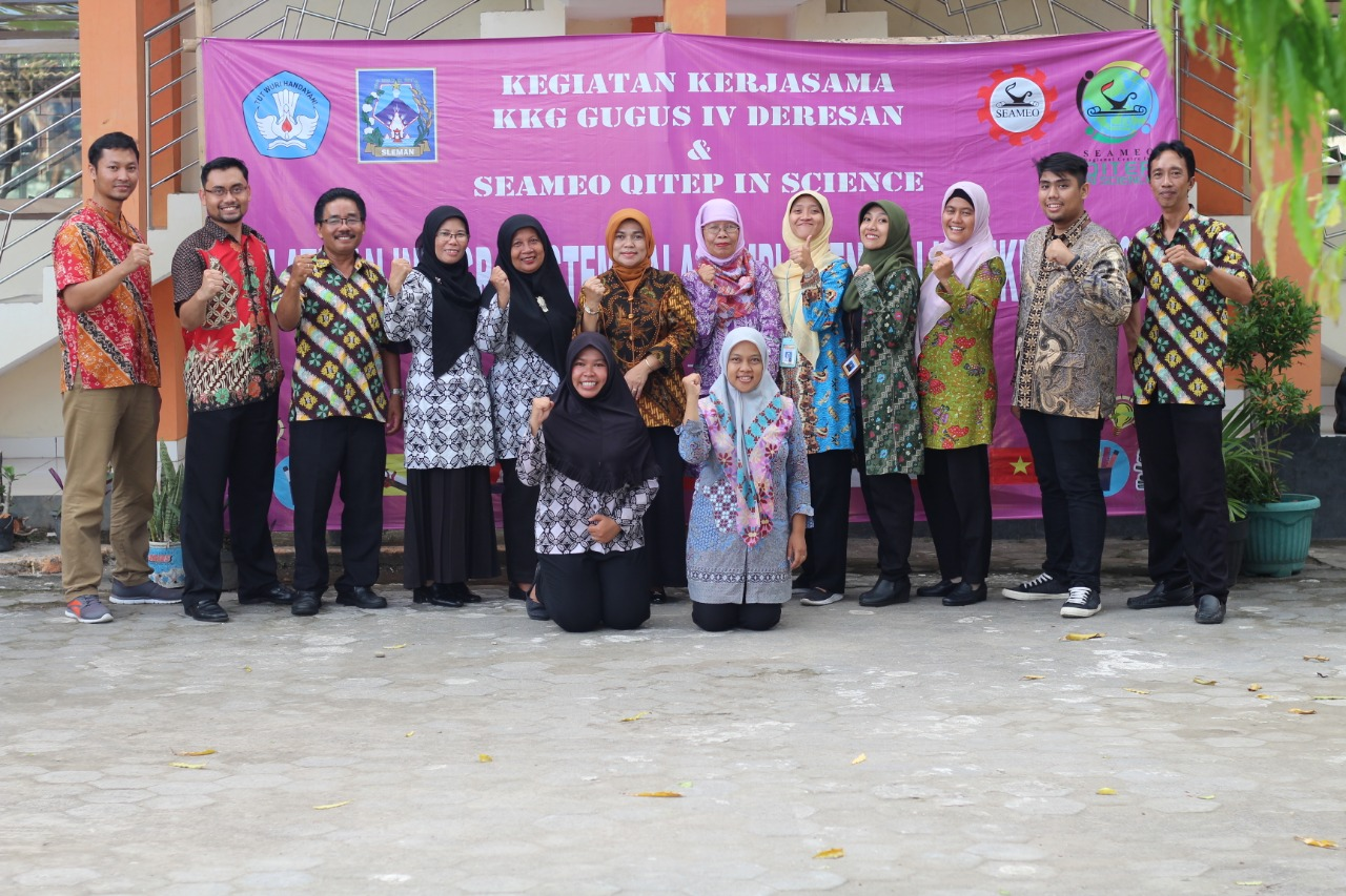 Training on STEM Integration in Curriculum 2013 Implementation for Sleman Regency Elementary School Teachers