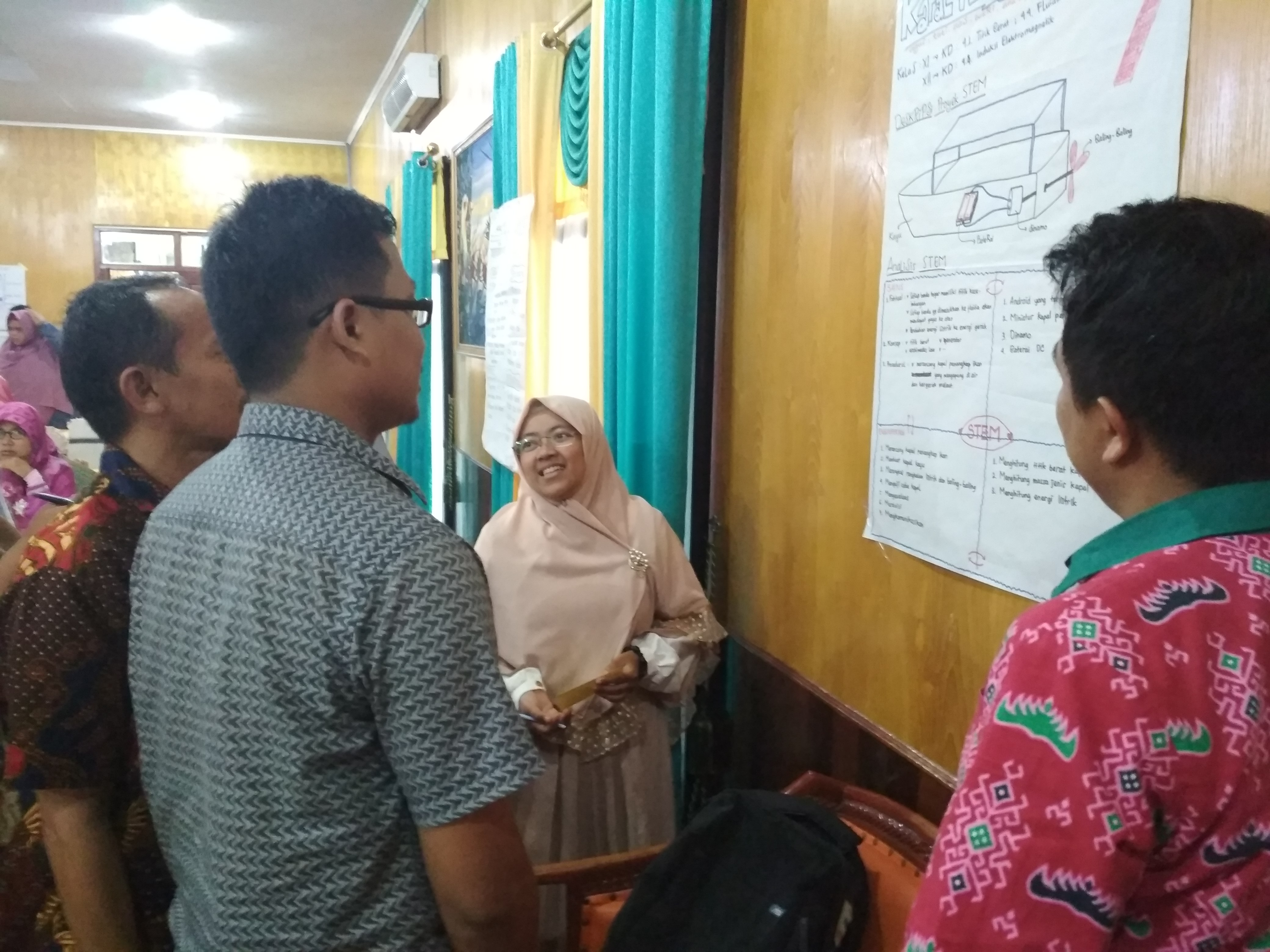 Training on STEM Learning for High School Physics Teachers in Lampung Province