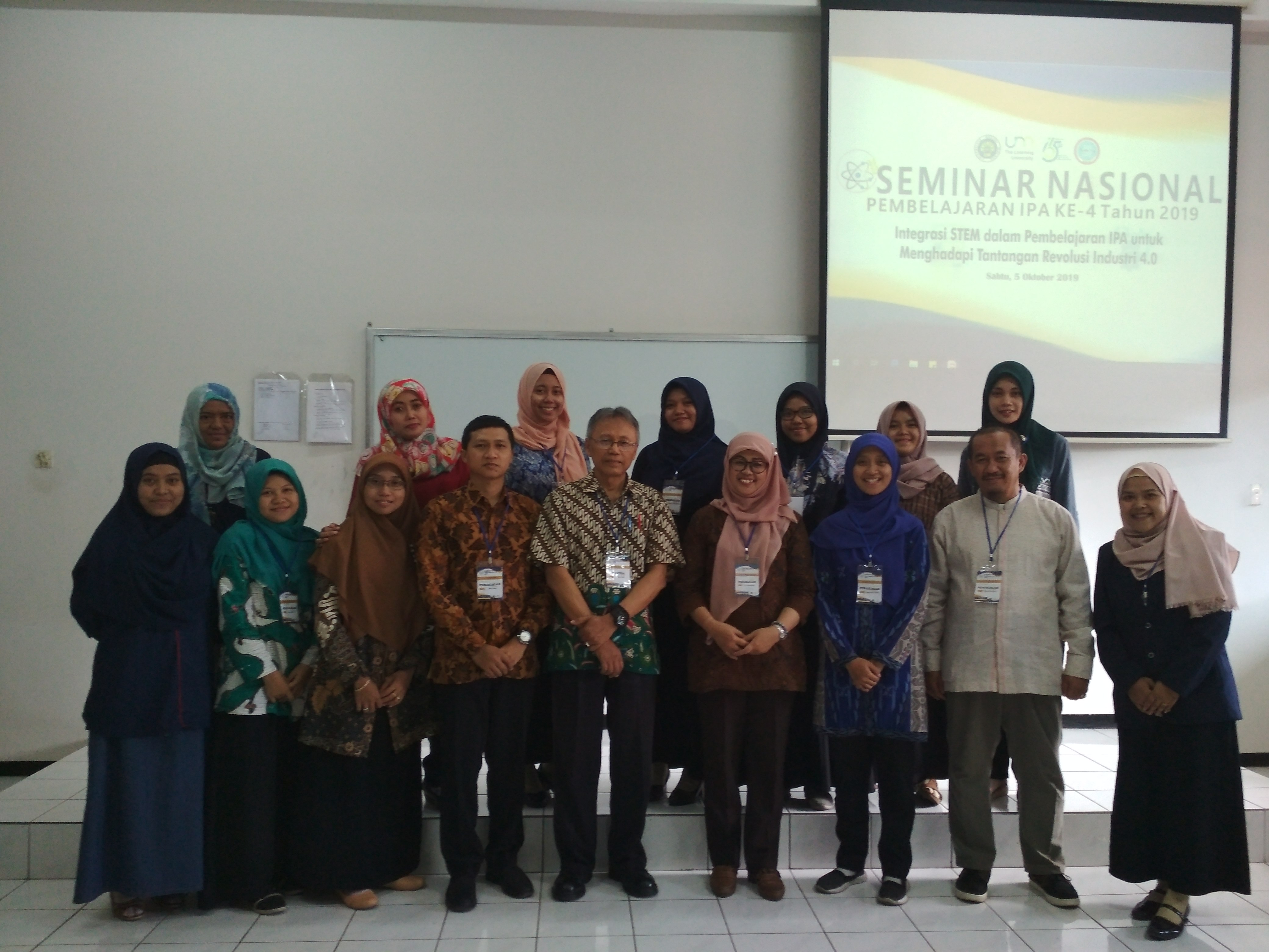 SEAQIS Scientific Publication in the 4th National Seminar on Science Learning at Malang State University