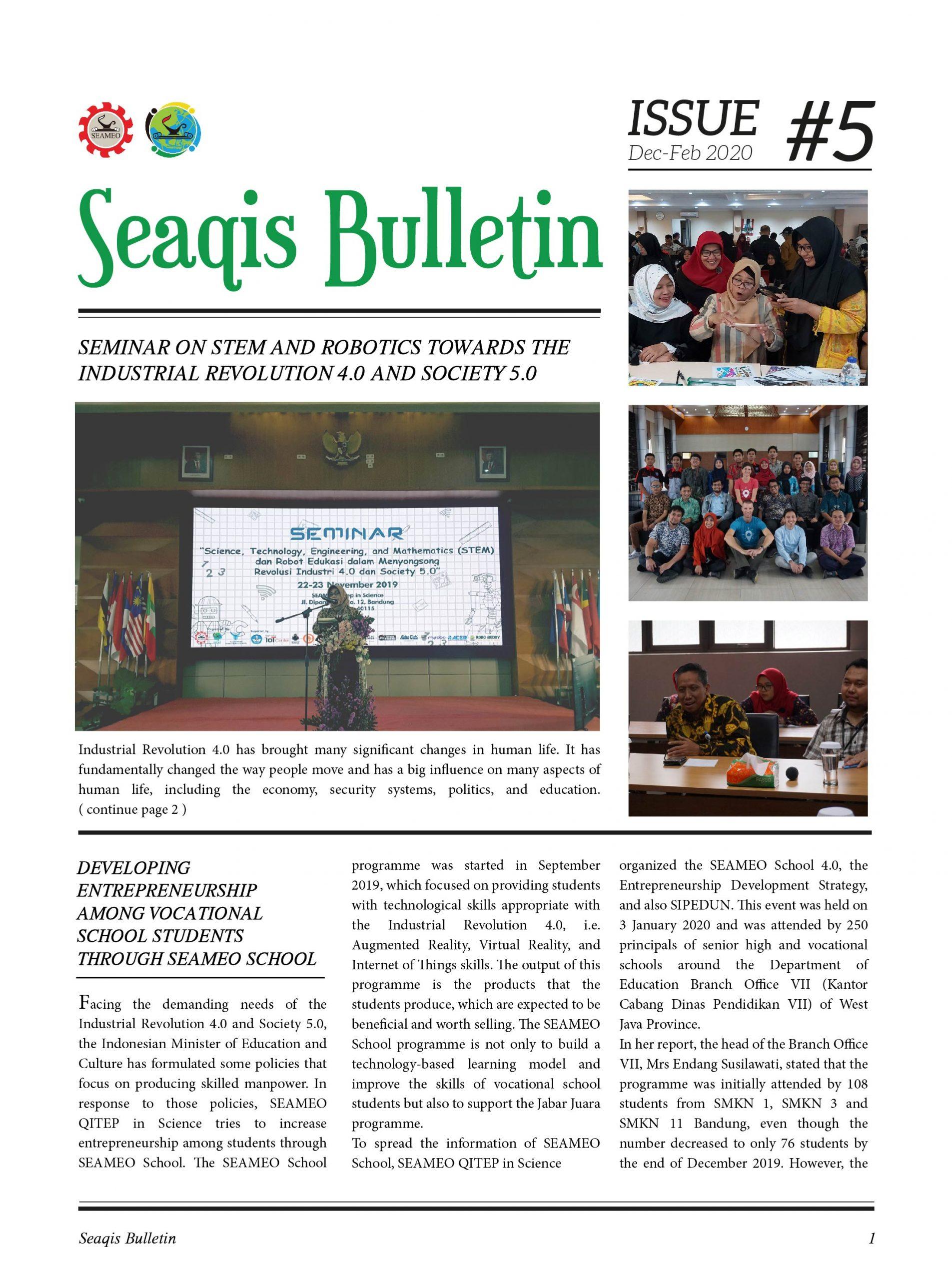 Bulletin #5