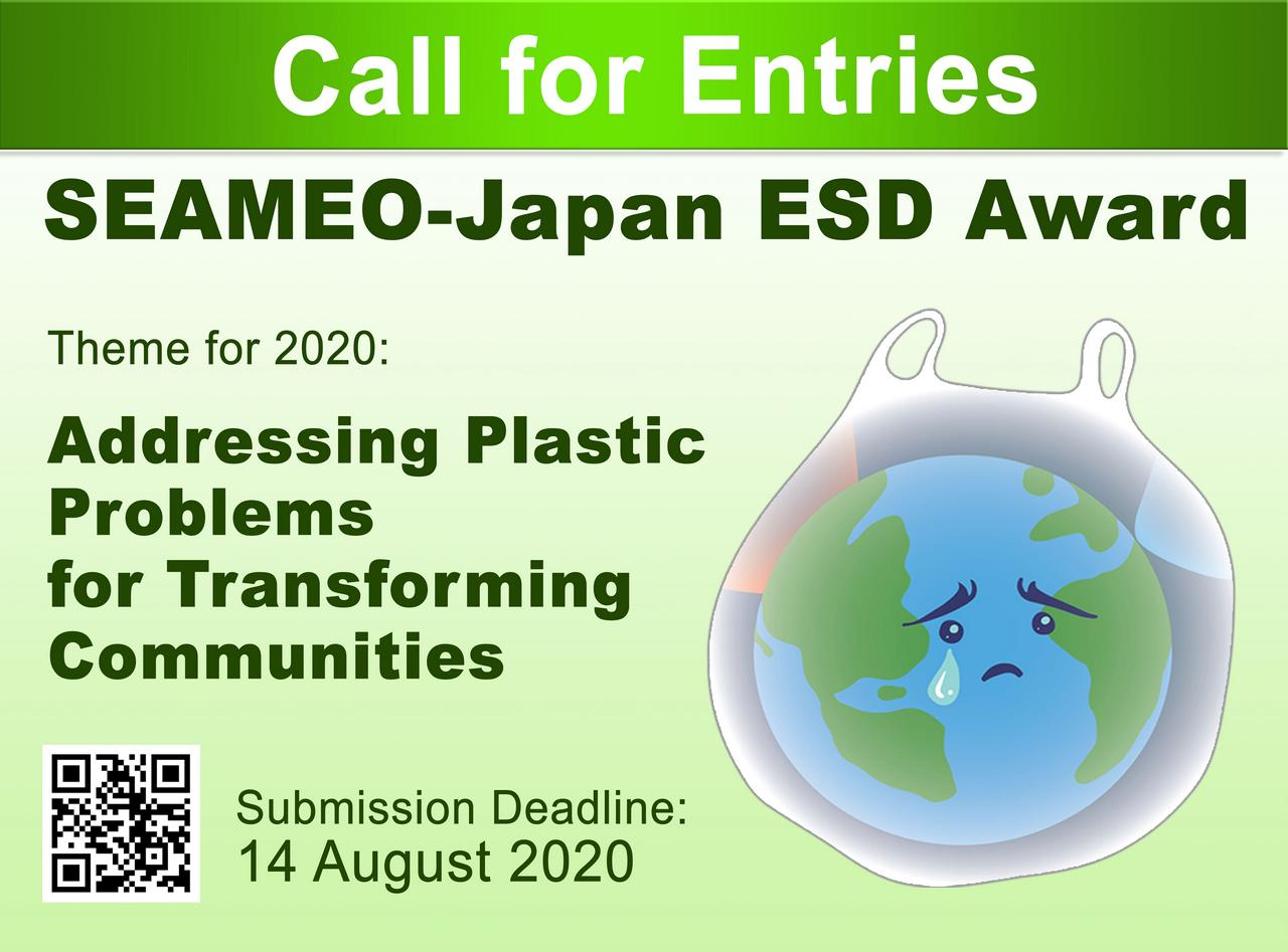 The 2020 SEAMEO-Japan Education for Sustainable Development (ESD) Award