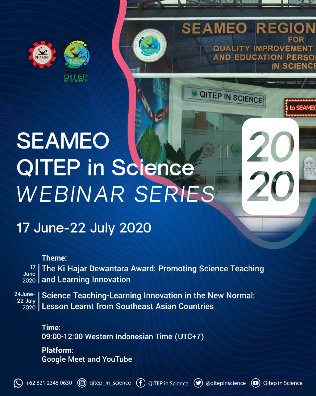 Webinar Series on Science Teaching and Learning Innovation in the New Normal: Lesson-Learnt from Southeast Asian Countries