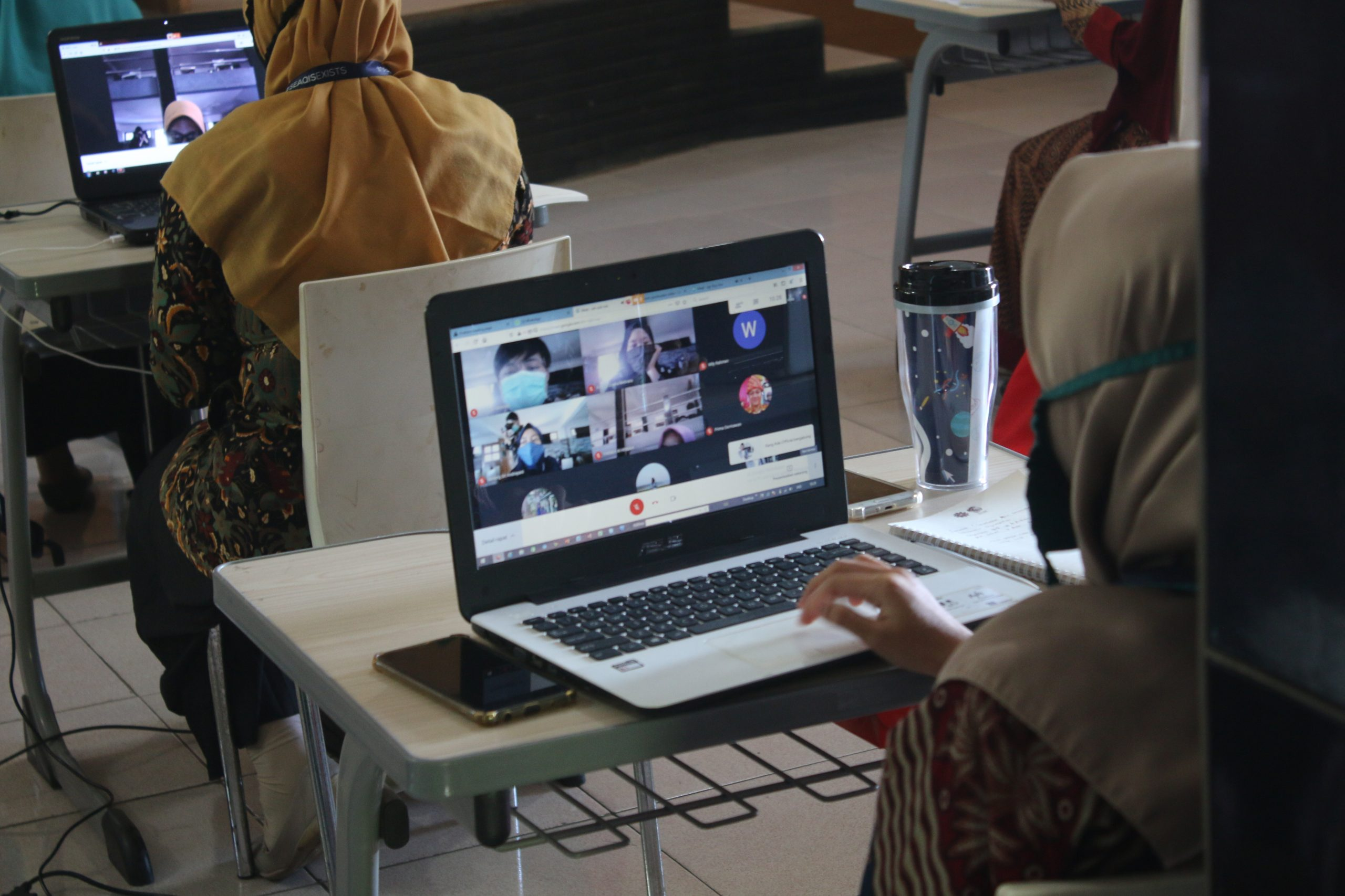 Training on the Use of Online Learning Application for Primary and Junior Secondary School Teachers in Purwakarta Regency, Batch II