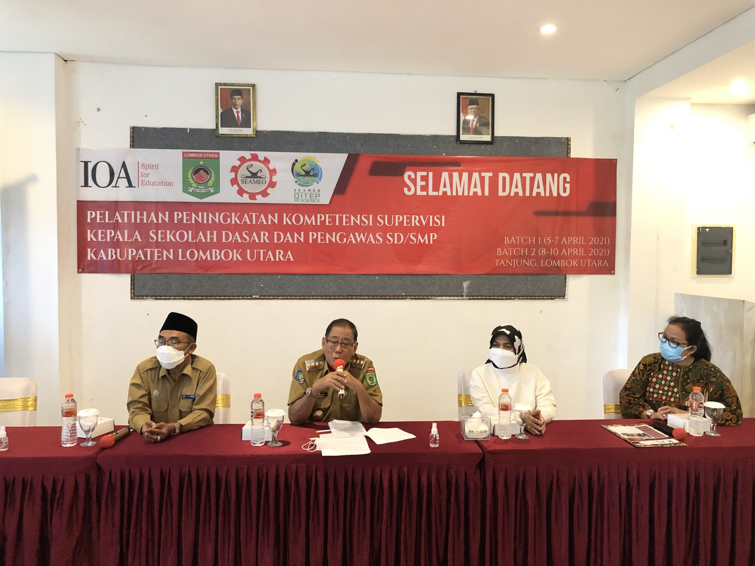 SEAQIS in Collaboration with Indonesian Overseas Alumni (IOA) Conducted Training on Classroom Supervision for Kindergarten, Primary, and Lower Secondary School Principals and Supervisors in North Lombok Regency