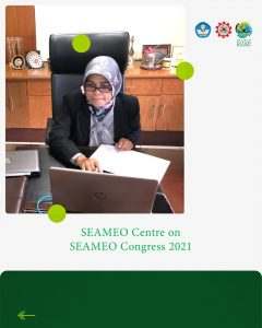 SEAQIS participated in SEAMEO Congress 2021