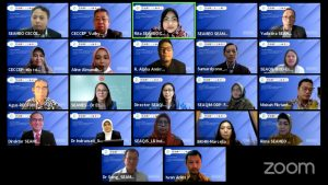 Director presented SEAQIS Contributions on Improving Science Learning Quality in Indonesia and Southeast Asia during the National Education Day Webinar