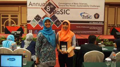 SEAQIS Research Dissemination on the 8th Annual Basic Science International Conference 2018