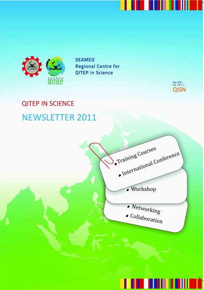 SEAQIS Newsletter Vol 2 2011