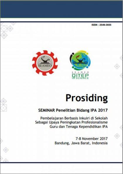 Prosiding: Seminar Penelitian Bidang IPA 2017